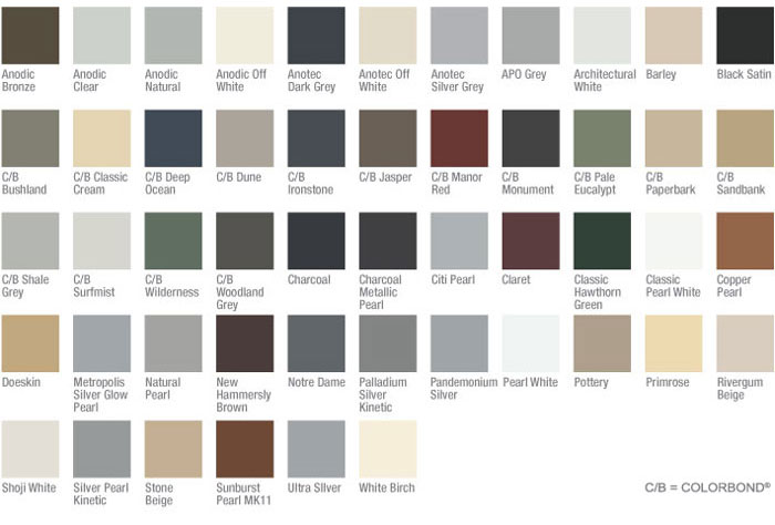 diamond security door colours