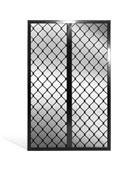 diamond security screen mullion