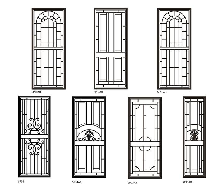 heritage security door options